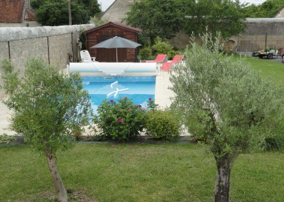 piscine à la Tour Levoy